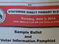 ELECTION: Sample Ballots Arrive for Citrus Heights Voters