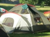 Residents' are invited to bring their tents and camp out, without having to leave the city.