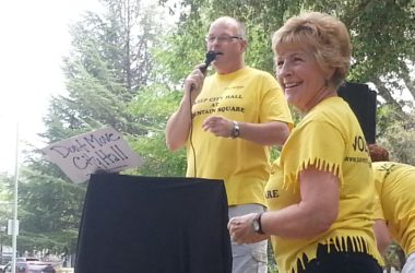 Save City Hall Rally in Citrus Heights