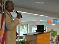 """Citrus Heights Mayor Mel Turner delivers his """"State of the City"""" address to a sold-out business luncheon, Tuesday."""