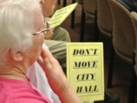 Council Votes 5-0 to Take 'No Action' on City Hall Proposal