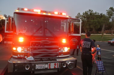Fire Truck from Citrus Heights' Engine 21