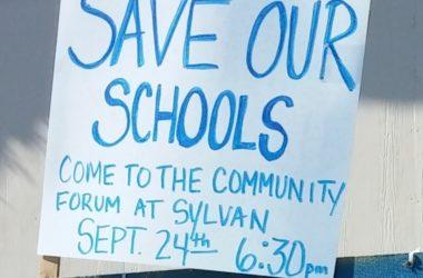Save our schools, Sylvan Middle School
