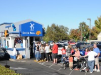 Long lines fuel Dutch Bros. Coffee fundraiser for slain officers