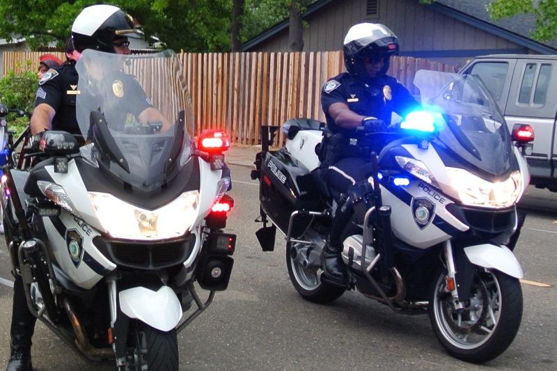 Stock photo, Citrus Heights police officers. Photo credit: Luke Otterstad