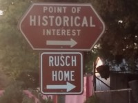 Volunteer Work Day Held for Historic Rusch Home