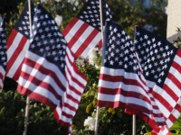 Local Veterans Day event today at Sylvan Cemetery