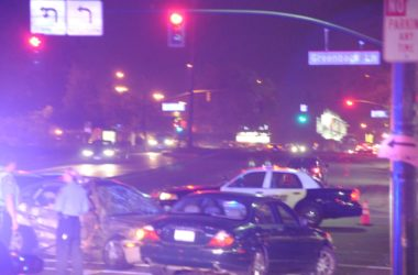 Crash in middle of intersection in Citrus Heights. Photo credit: Luke Otterstad