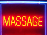 Neon sign, massage sauna 2005. Photo credit, Justin Cormack (cc-by-sa-2.0)