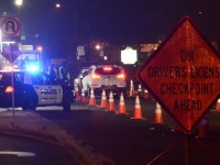 File photo, Citrus Heights police conduct a DUI Checkpoint operation on Auburn Blvd. // CH Sentinel