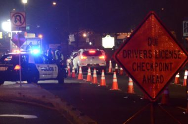 Citrus Heights police DUI checkpoint. Photo by Luke Otterstad