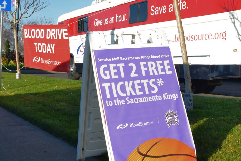 Sacramento Kings team up for blood drive in Citrus Heights