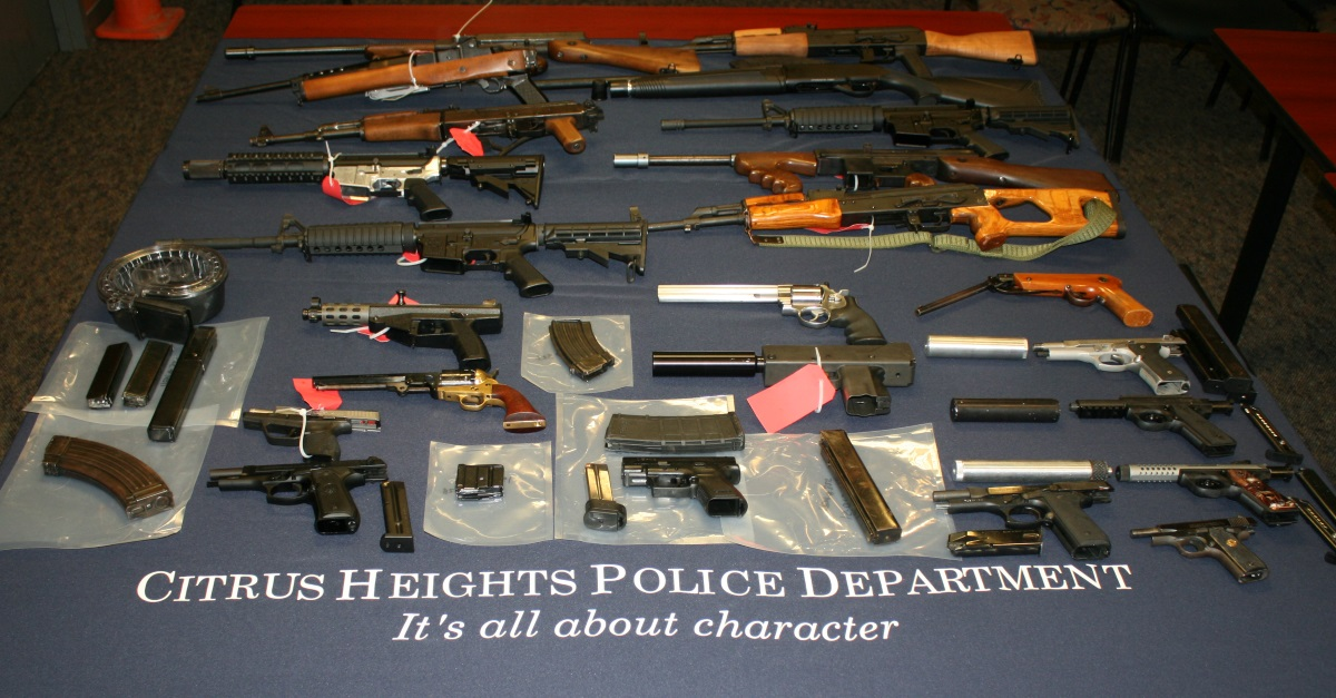 pd citrus heights swat raids seized 20 guns drugs 93k