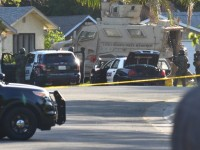 Citrus Heights police surrounded a home during a 12-hour stand-off with a possibly armed man, Thursday.