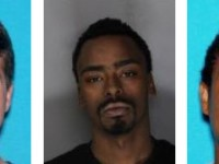Photos provided by the Citrus Heights Police Department of three of the men arrested Tuesday.