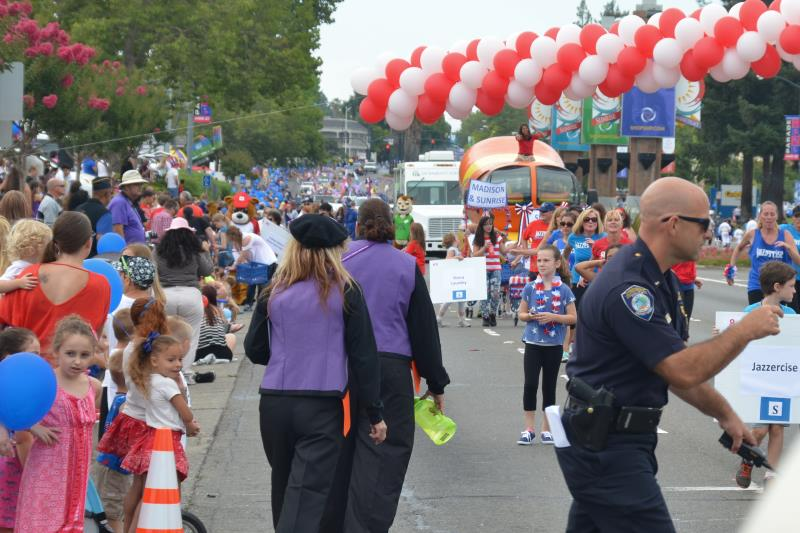 2015 red white and blue parade, citrus heights