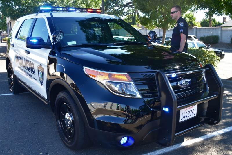 Citrus Heights Police Suv Interceptor Pursuit