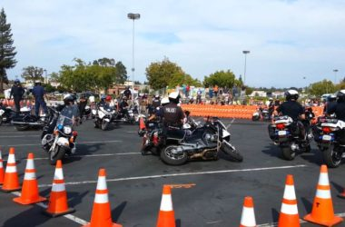 police motorcycle competition