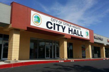 citrus heights temp city hall on auburn blvd