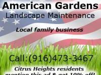 American Gardens – Landscape maintenance
