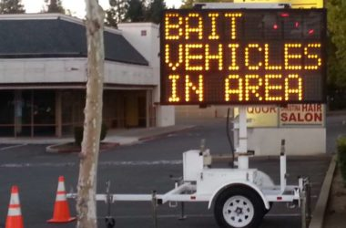 Bait vehicles, Citrus Heights