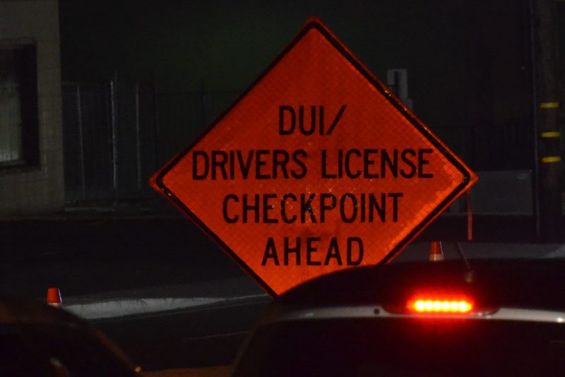 Citrus Heights, DUI checkpoint
