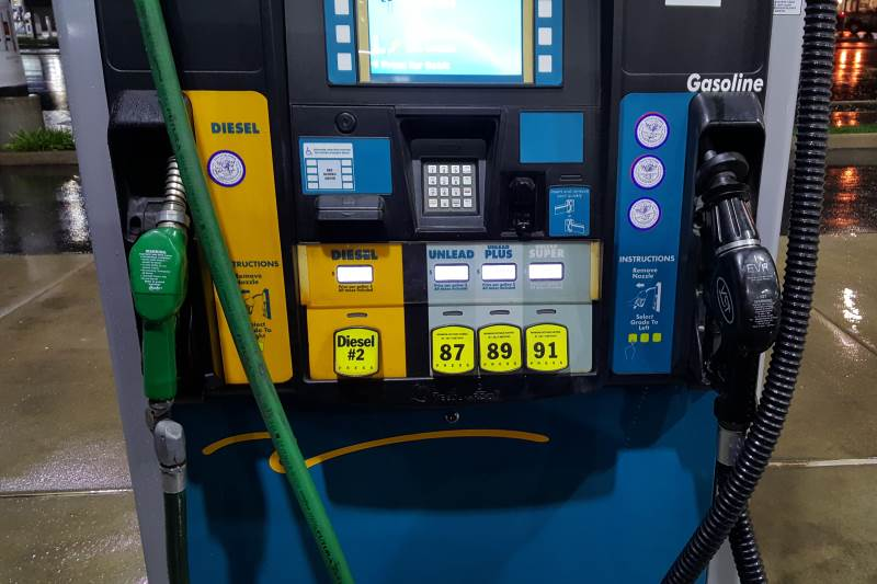 Gas pump, Valero gas station, Photo credit: Citrus Heights Sentinel