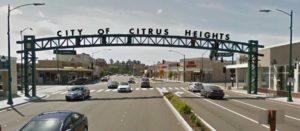 Citrus Heights, Auburn Blvd, gateway arch, archway