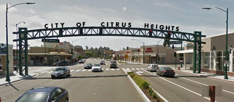 Citrus Heights, Auburn Blvd, gateway arch, archway