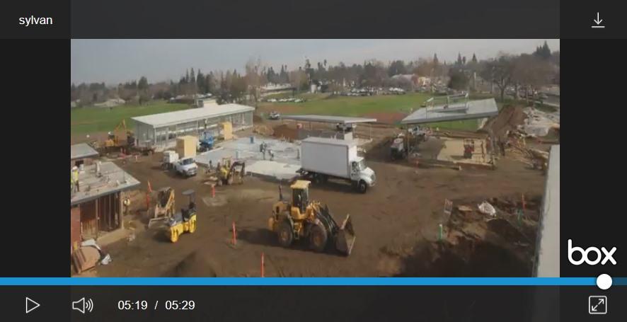 Sylvan Middle School construction