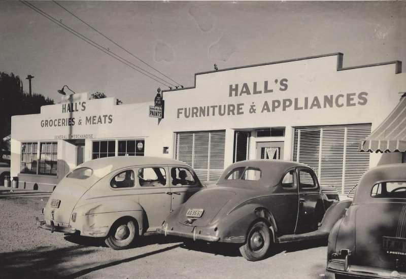 Hall's Furniture & Appliance, Citrus Heights, 1946