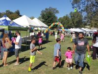 Organizers and police estimated several thousand people attended the annual Sunday Funday event at Rusch Park on Sept. 25, 2016. // CH Sentinel