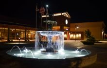 Night-view of the new Citrus Heights city hall. // CH Sentinel