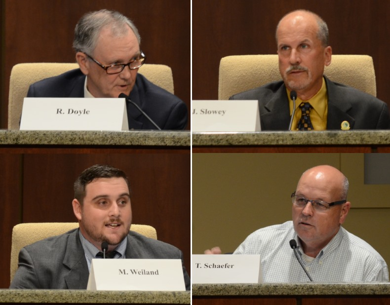 Jeff Slowey, Marcel Weiland, Tim Schaefer, and Rick Doyle