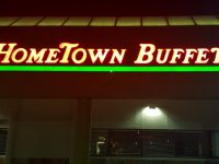 Hometown Buffet on Sunrise Boulevard in Citrus Heights closed its doors for the final time last week. // CH Sentinel