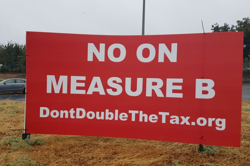 No on Measure B, Citrus Heights
