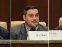 Candidates Rick Doyle, left, Marcel Weiland, and Jeff Slowey, right. // CH Sentinel