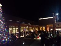 Crowds linger around for refreshments and entertainment, following the 2016 Christmas Tree Lighting ceremony in Citrus Heights. // CH Sentinel