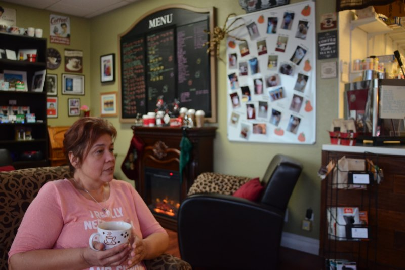 Louise Hansen-Cordray, Citrus Heights, Java Cherry, coffee house
