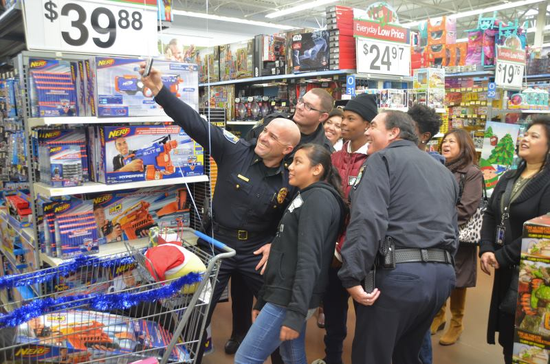 Shop with a Cop, Citrus Heights Walmart