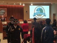 Council chambers in Citrus Heights were packed with a standing-room-only crowd Thursday night for the city's 20th birthday kick-off celebration. // CH Sentinel