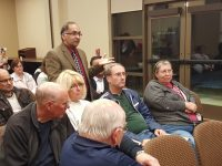 A group of about 40 residents and business owners gathered at city hall Wednesday night to discuss strategy for opposing a proposed ARCO gas station at Sunrise Blvd. and Sungarden Dr. // CH Sentinel