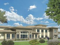 An architectural rendering of a new care facility in Citrus Heights was presented to the planning commission on Jan. 11.