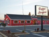 Crepes & Burgers is scheduled to open on Jan. 30 on Auburn Boulevard. // CH Sentinel