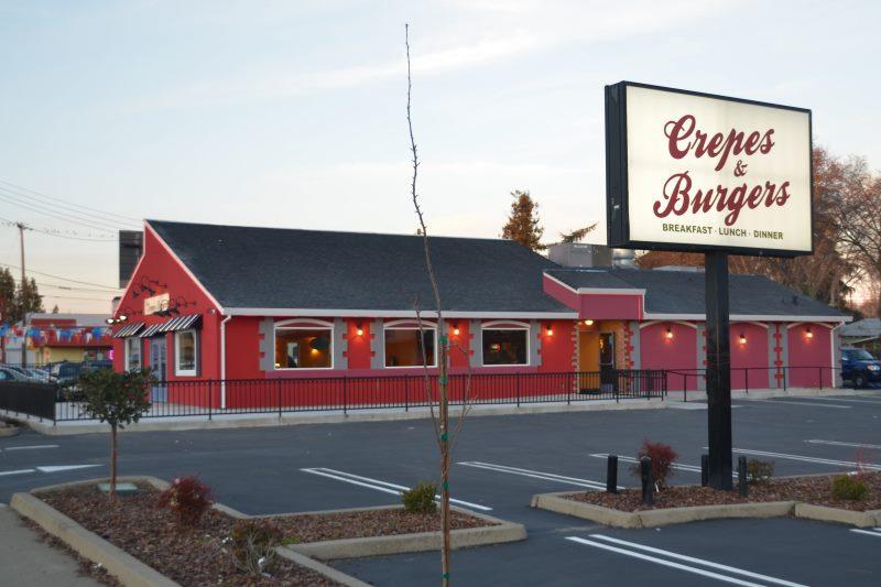 Crepes & burgers