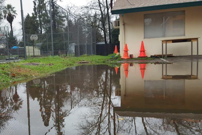 flooding, storm, Citrus Heights