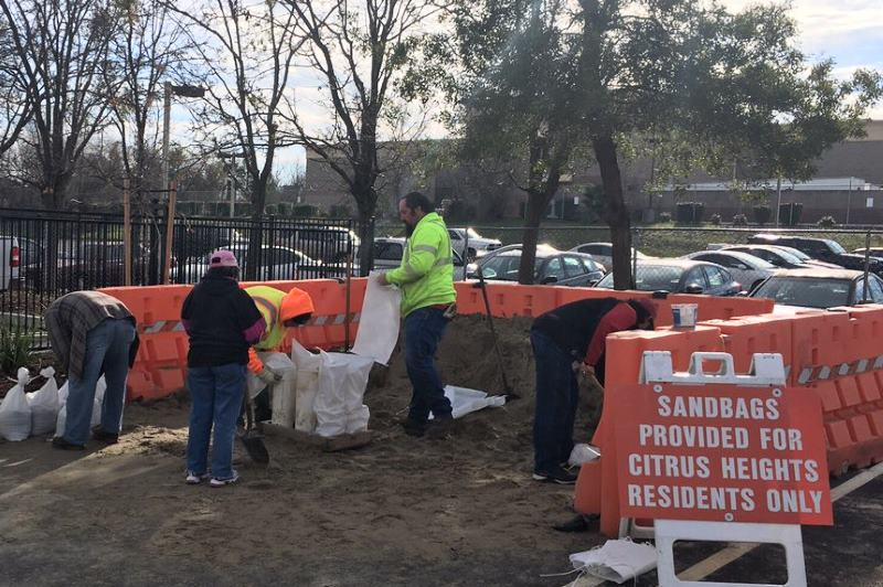sandbags, citrus heights