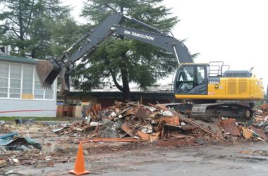 Sylvan Middle School, demolition