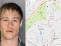 Police believe suspect Levi Pierce is responsible for a series of burglaries occurring in Citrus Heights. A map was released by police last month indicating targeted burglary areas.