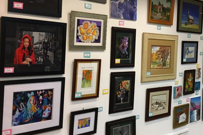 Hidden Treasures art show